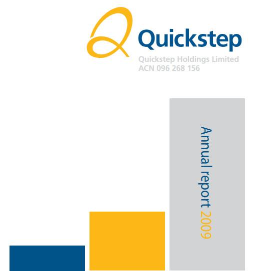 Quickstep Annual Report 2009