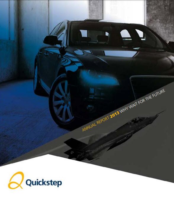 Quickstep Annual Report 2013