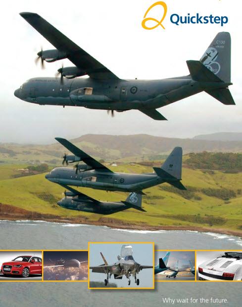 Quickstep Annual Report 2012
