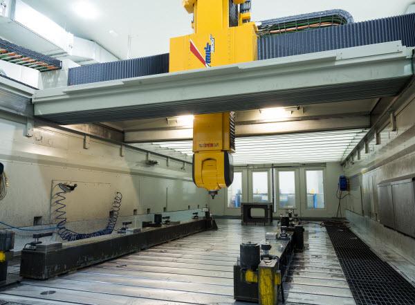 Two Breton Precision Milling Machines
